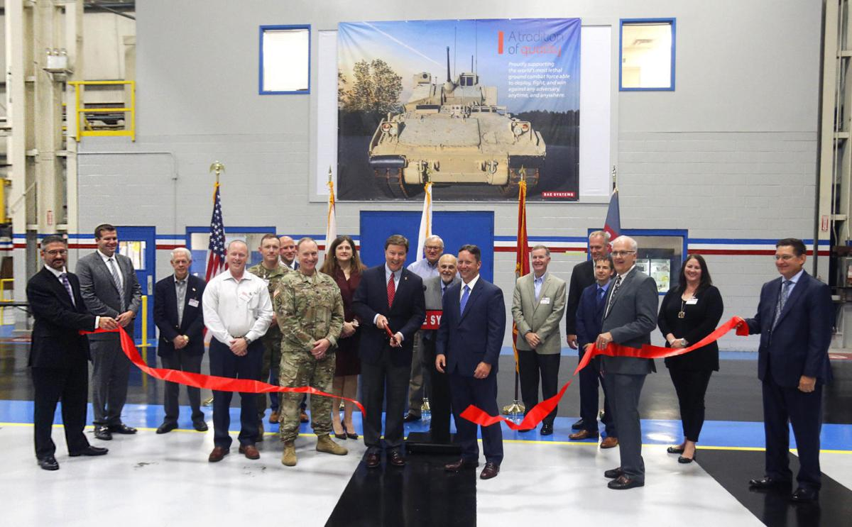 Bradley ribbon cutting