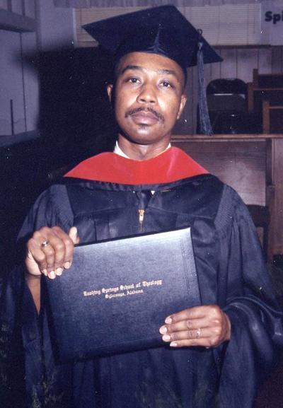 Min. Terence Chatman graduation photo