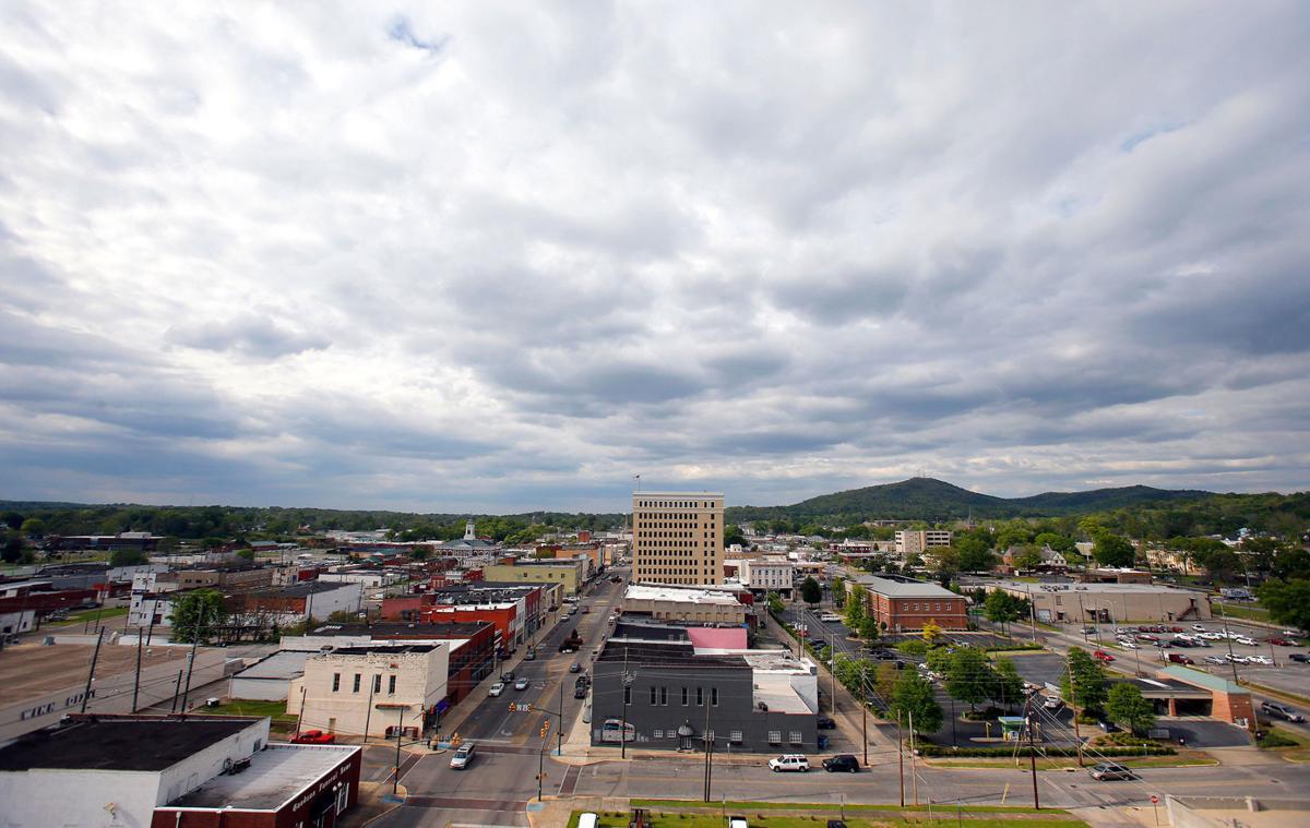 Downtown Anniston scenes
