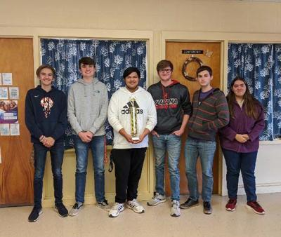 SCORE! Congrats ... Randolph County Scholars Bowl champs at Woodland High School
