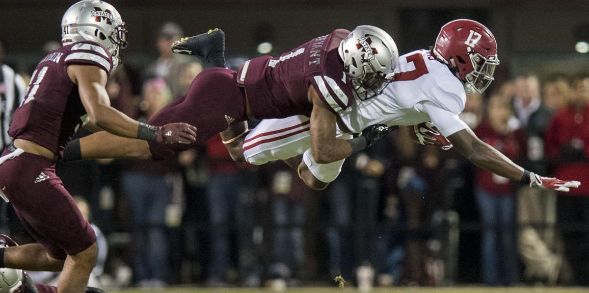 LESS COWBELL: Tide's Hurts quiets MSU with comeback win