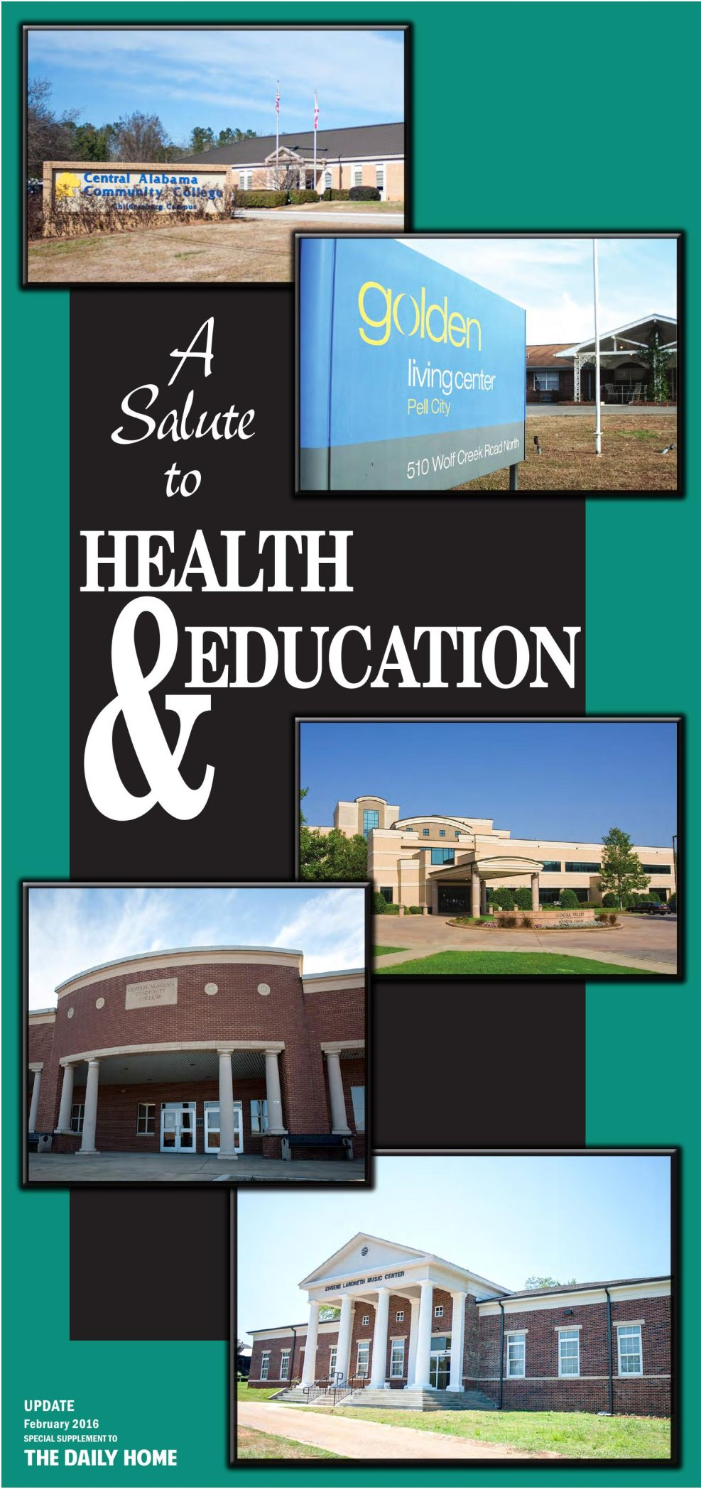 Update 2016 - Health & Education