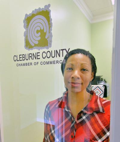 Cleburne County Chamber of Commerce director Beverly Ervin
