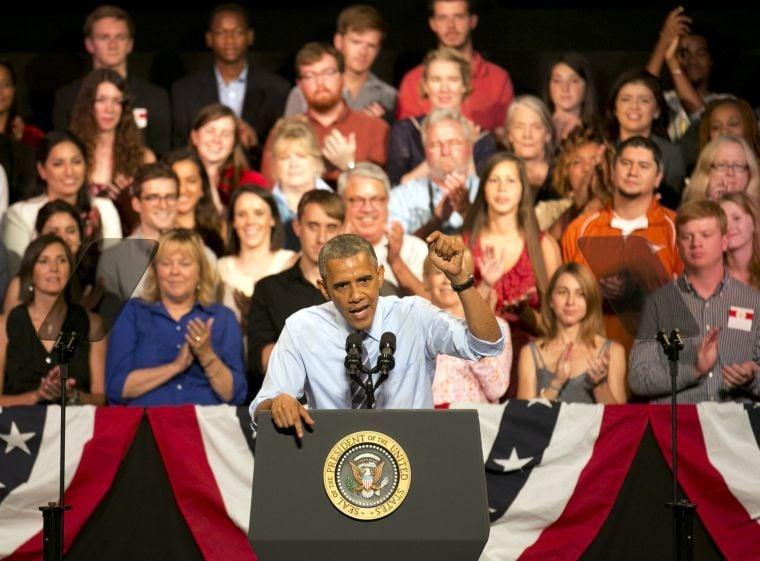 President Obama visits Texas