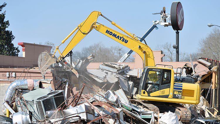 Heflin Jack's Demolished Will Be Rebuilt
