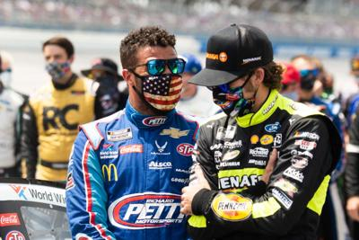 Bubba Wallace, Ryan Blaney