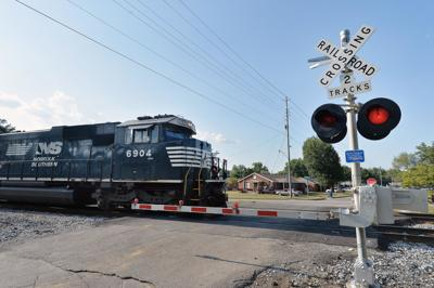 Anniston man dead after being struck by train
