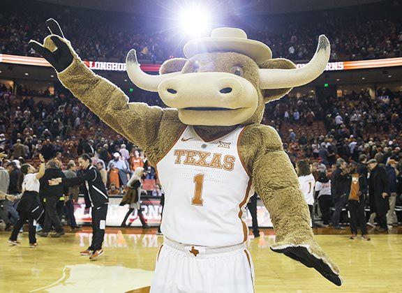 Texas mascot Hook 'Em