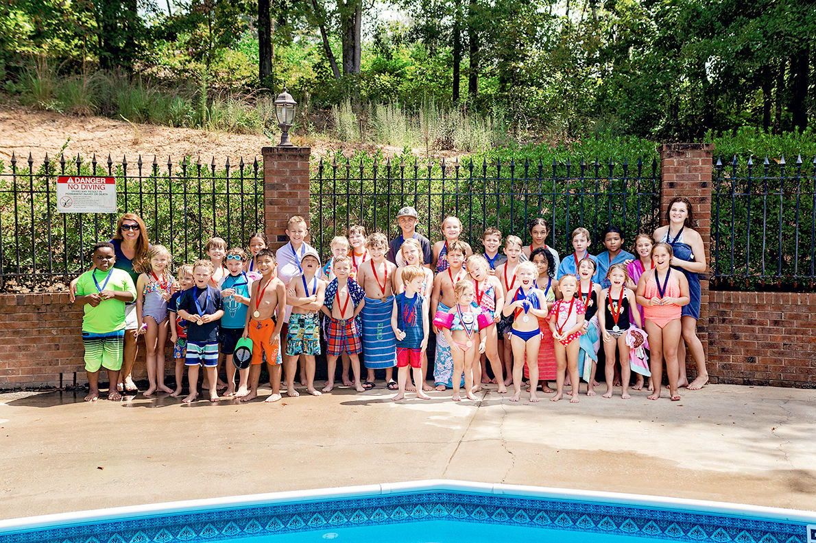 167 students complete Jean Speer's 26th year swim class