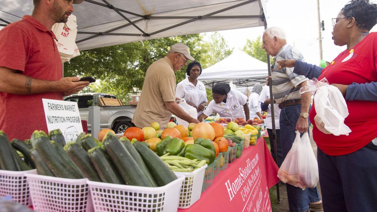 Photos: Sylacauga Farmer's Market