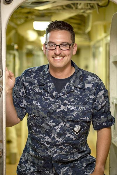 Seaman Jared Held completes deployment