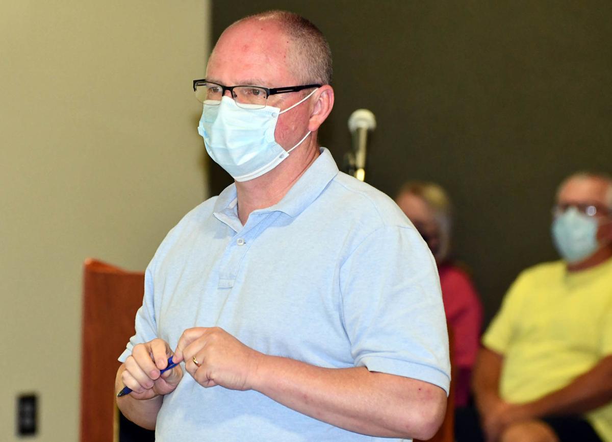 Ryan Robertson, masked