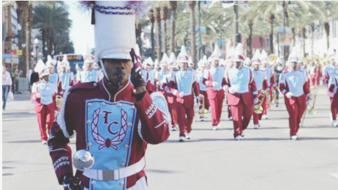 Talladega College Marching Band will participate in Mardi Gras events in New Orleans