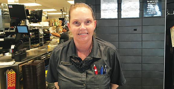 McDonald's employee works at two locations