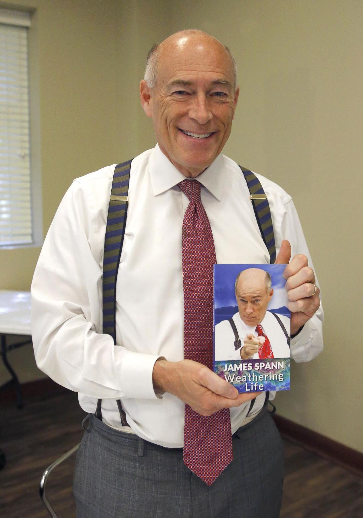 James Spann book signing