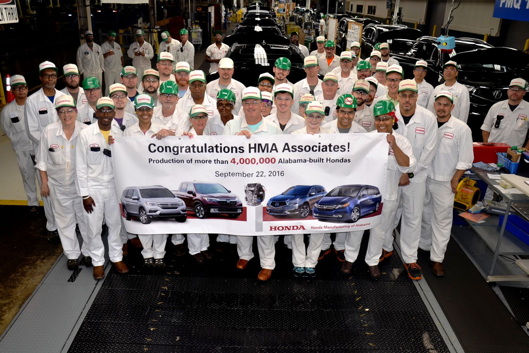 Honda Manufacturing Of Alabama Builds 4 Millionth Vehicle | The Daily Home  | Annistonstar.com