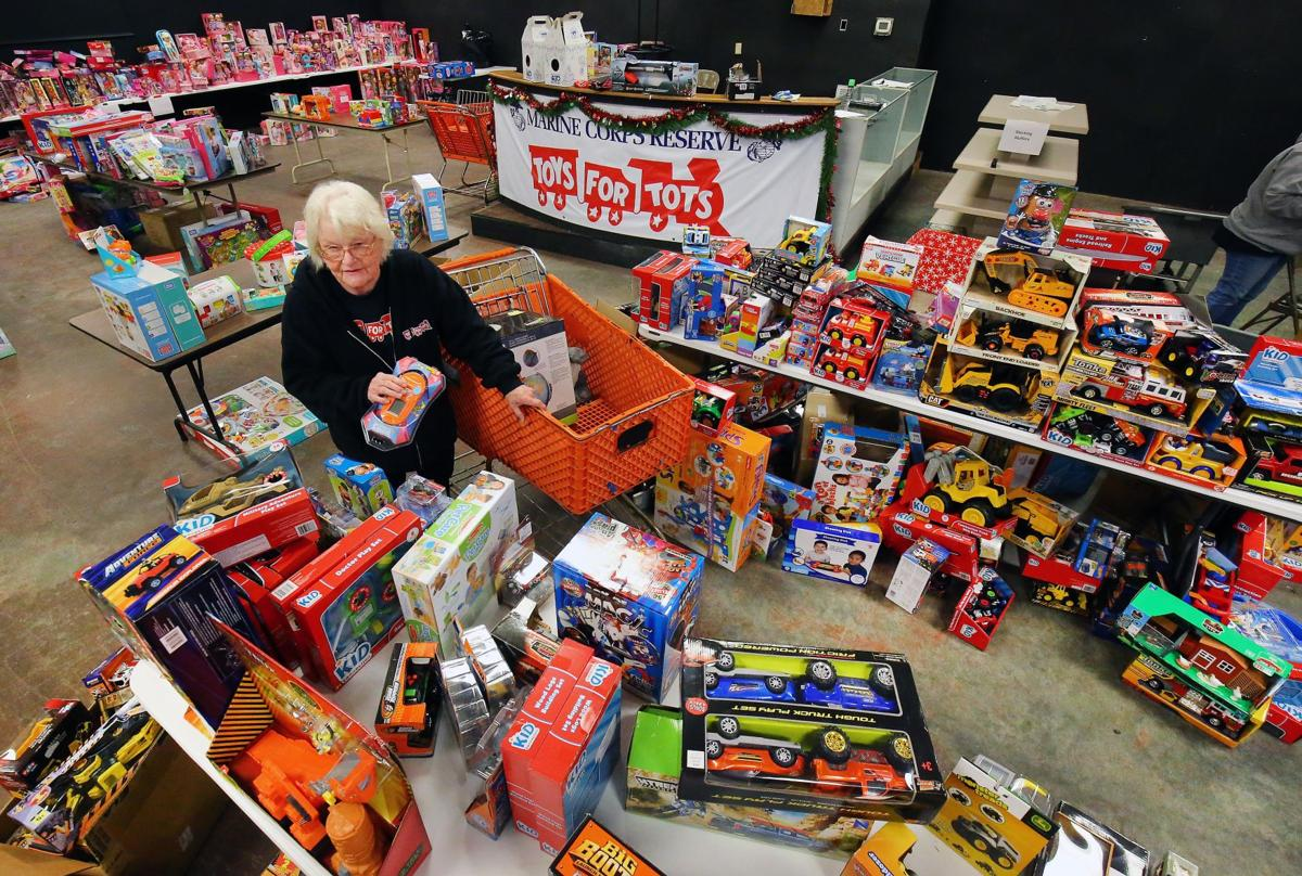 Toys For Tots Food : Marine corps league prepares toy giveaway for calhoun