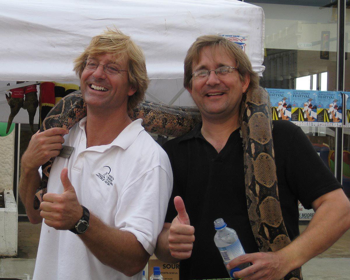 Dan Spaulding and Bill Wilson