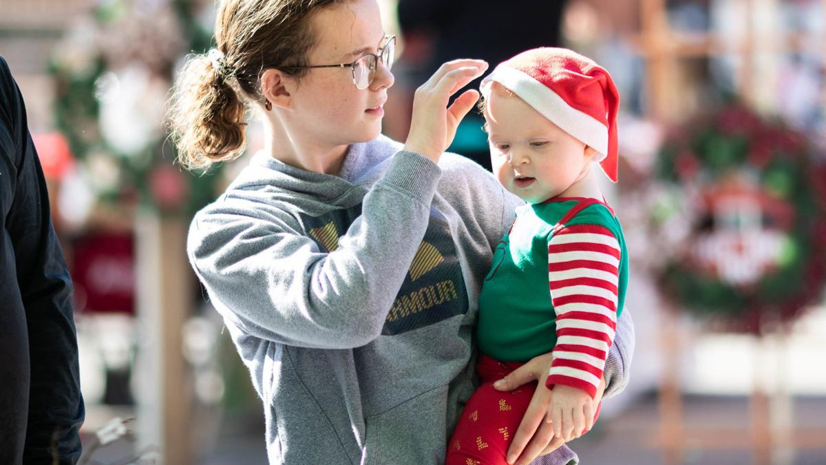 Scenes from Saturday at Christmas on the Square (photo gallery)