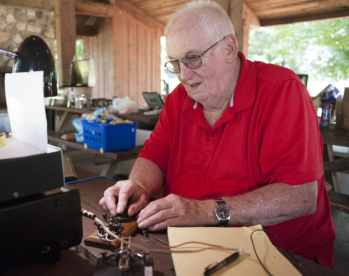 HAVING A FIELD DAY: Members of local amateur radio club gather at Pell City's Lakeside Park to participate in worldwide event (with photos)