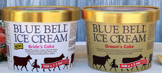 blue bell wedding cake ice cream blue bell announces new flavor s cake 11974