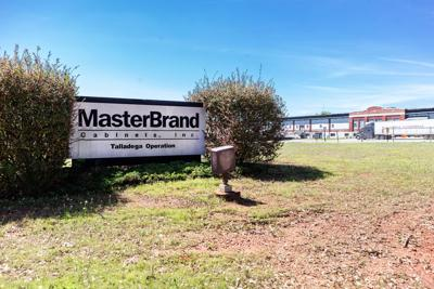 Sign for MasterBrand Cabinets in Talladega