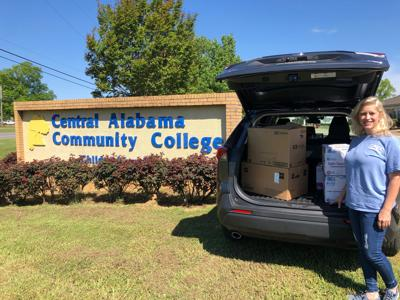 CACC Nursing Department donates supplies to local hospitals