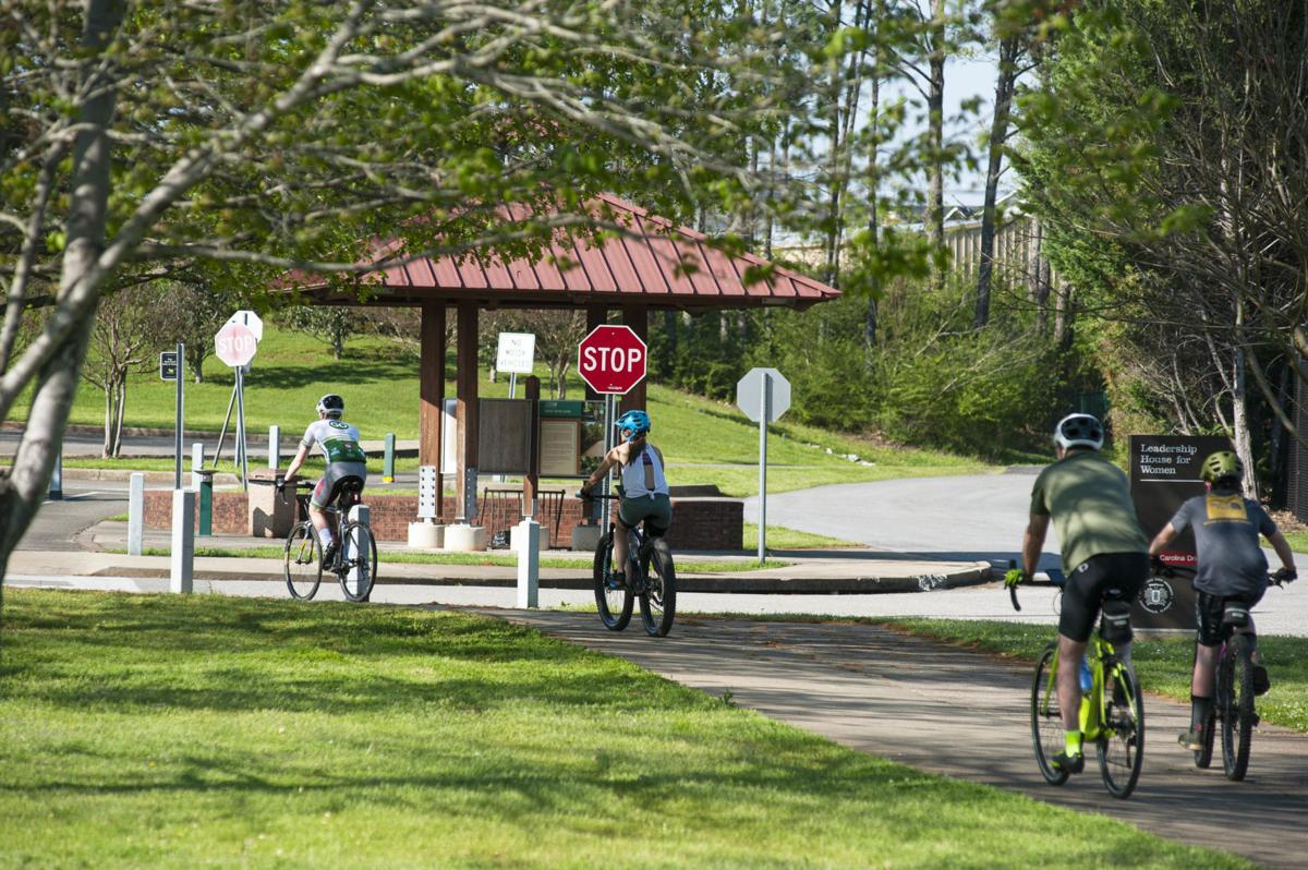 Family cycling Ladiga through JSU campus 1 tw.jpg