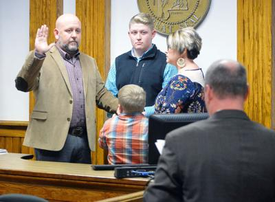 Adam Downs sworn in as new Cleburne County coroner