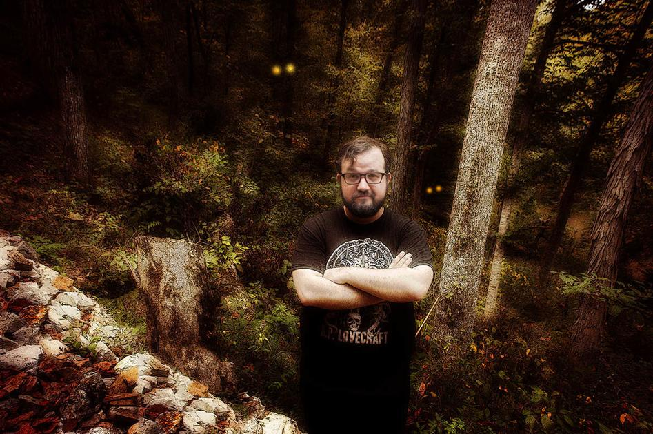 HE SEES MONSTERS: Alabama author Shaun Hamill knows what lurks in the dark