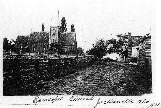 St. Luke's Episcopal Church in 1871