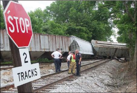No injuries in derailment