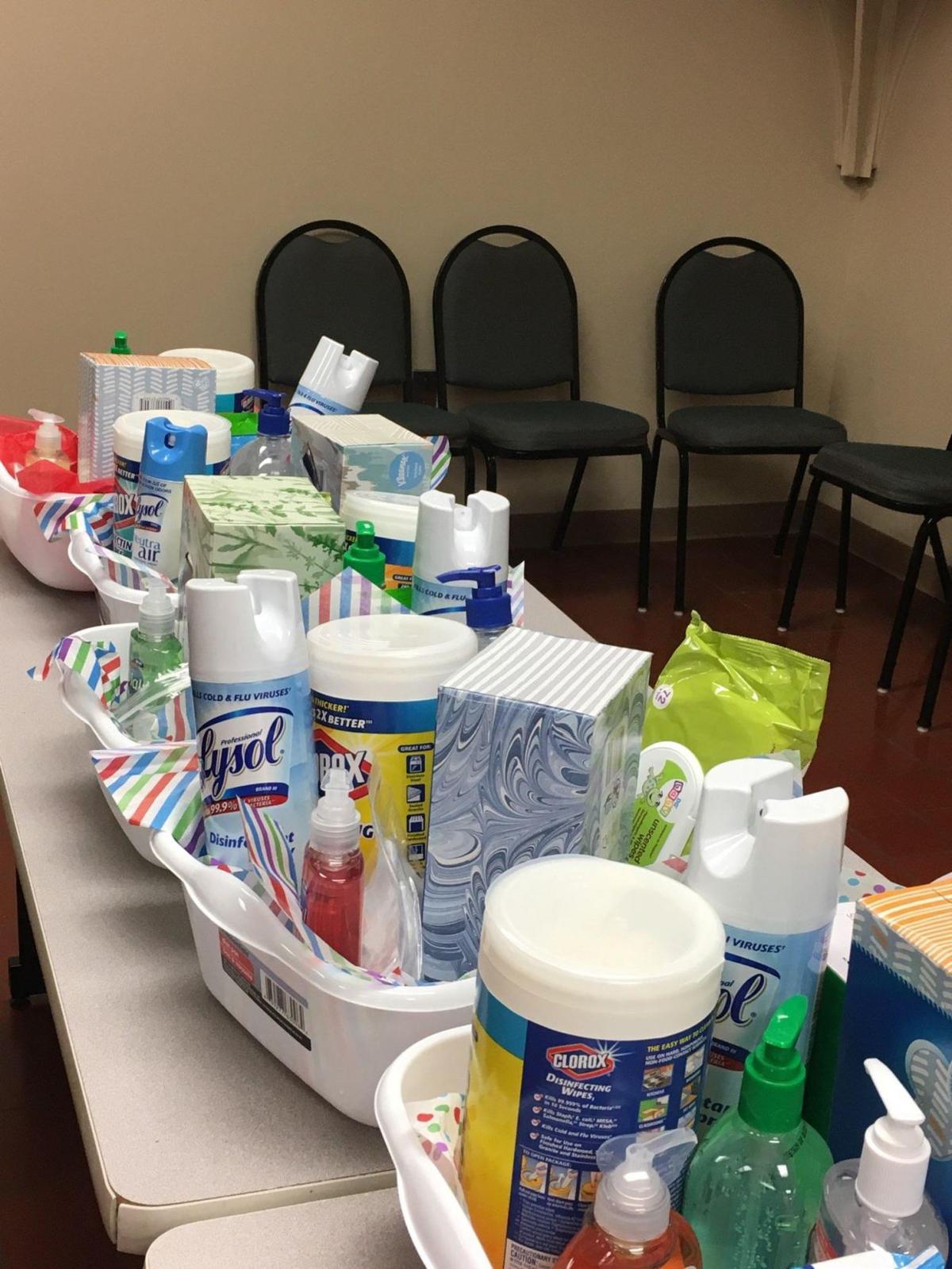 Talladega Optimist Club prepares, delivers clean hands kits to classrooms