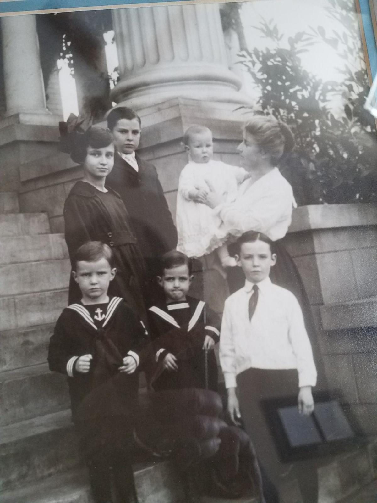 Margaret Taylor and her family