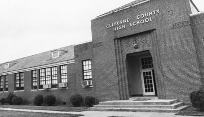 Old Cleburne entrance