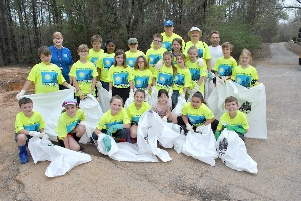 Eden Elementary students get early start on lake protection group's annual cleanup