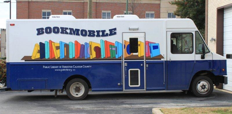 Bookmobile schedule for Monday-Wednesday, Sept. 10-12, 2018