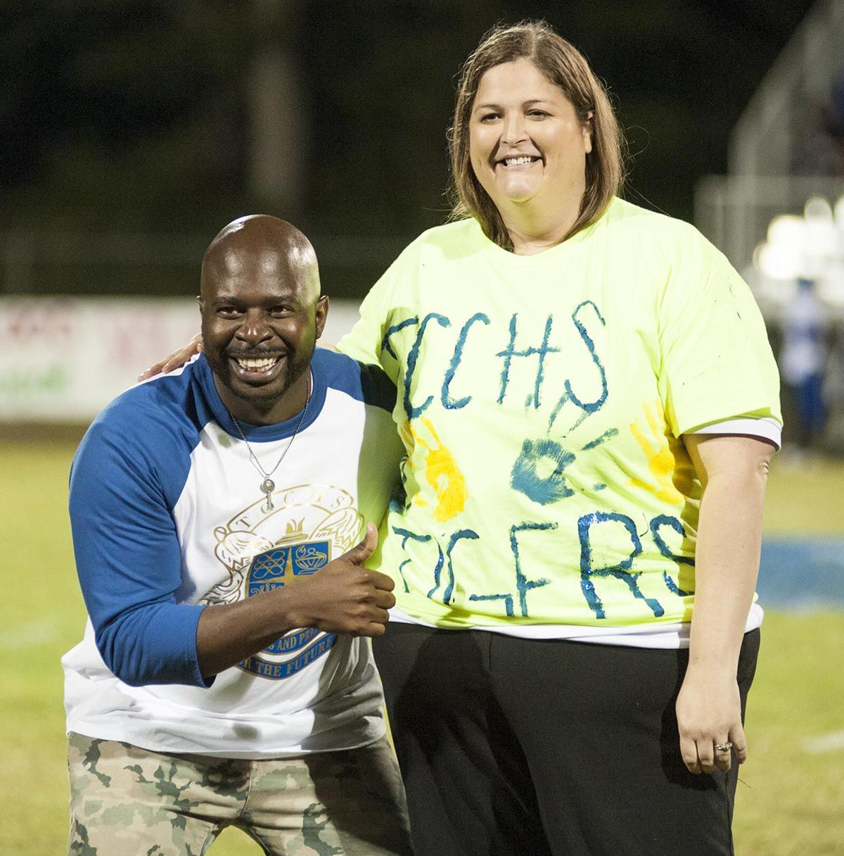 SCENE OF THE WEEK: TC Central, Winterboro students compete in 'Blue Classic' food drive