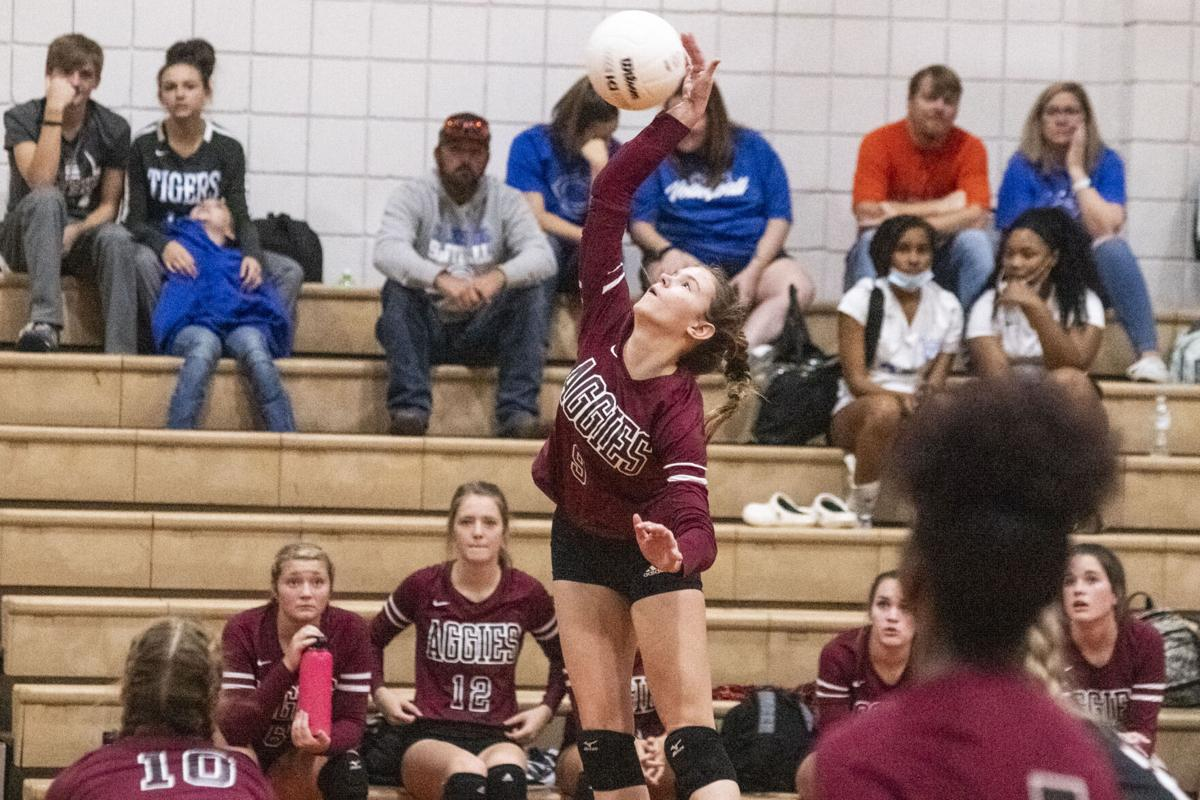 Sylacauga rallies past Munford to secure volleyball county championship