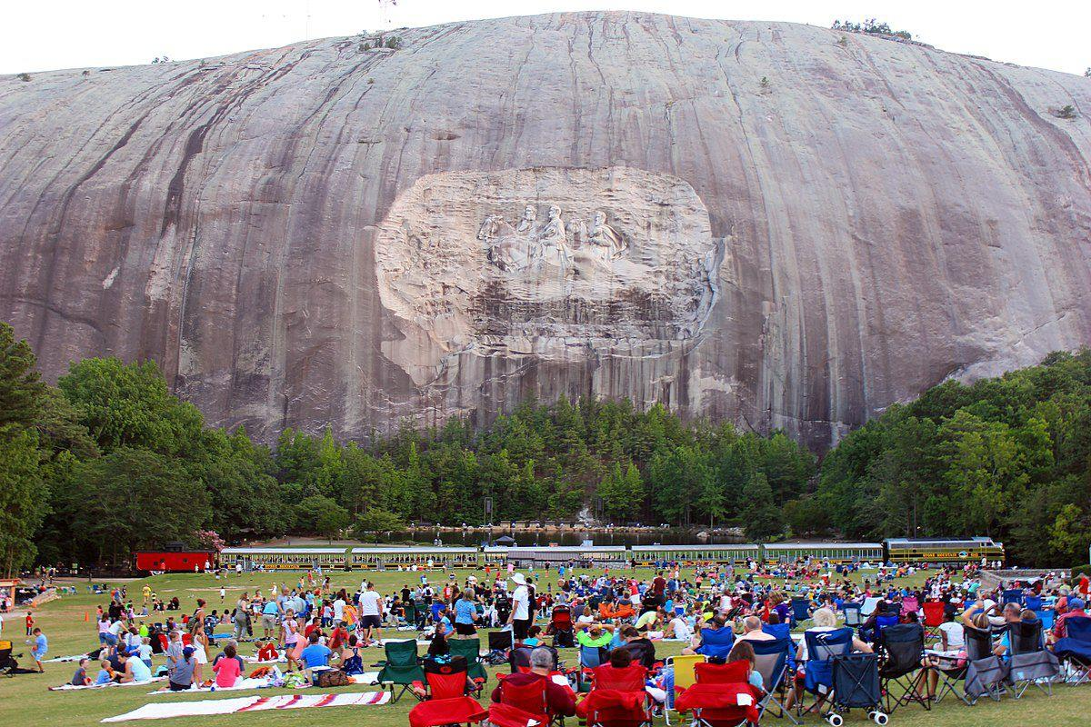 Giant Tree Wall Sticker A New Film About Stone Mountain And Its Confederate