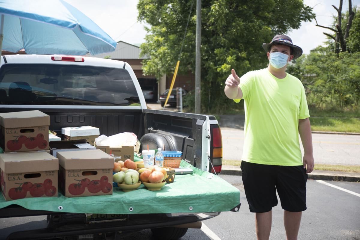Masked man on the street 8