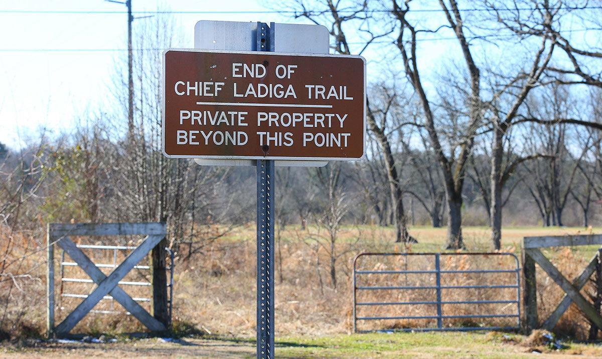 End of Chief Ladiga Trail