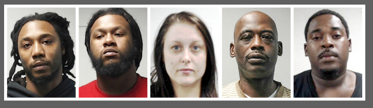 5 facing drug charges in St. Clair County