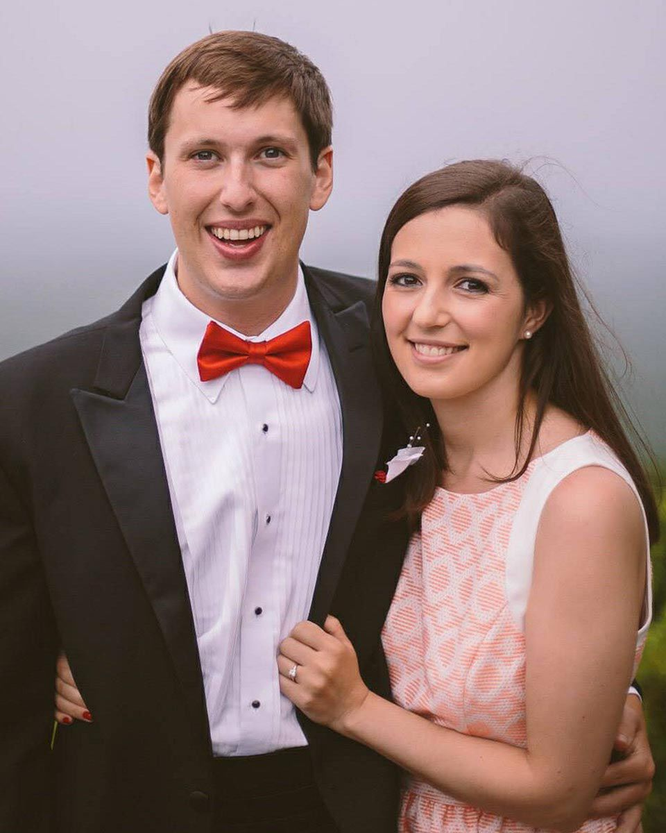 Vaughn Stewart III and his wife, Alex