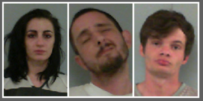 3, including Lineville couple, Pell City man, arrested on