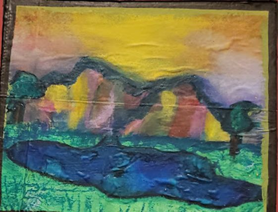"""""""The Major Mountains"""" by Abby Theiss"""