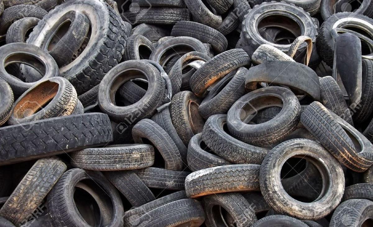 Scrap tires
