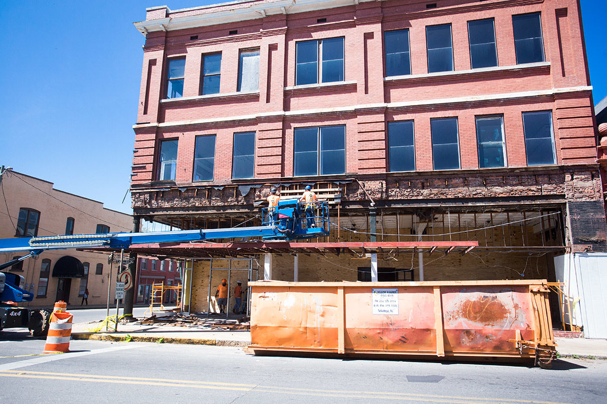 Welch-Coleman building gets makeover