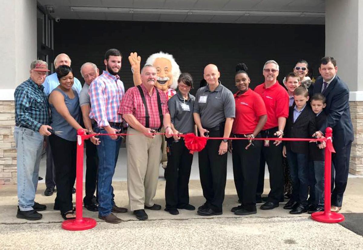 Ribbon-cutting ceremony for Ollie's Bargain Outlet in Sylacauga