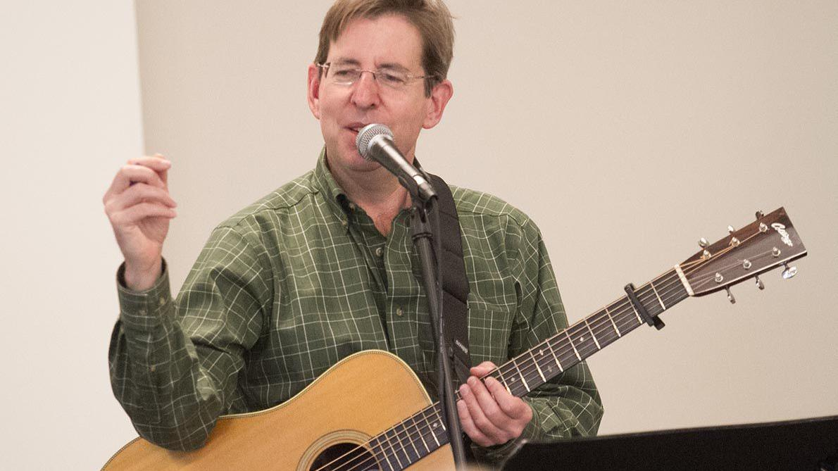 Celebrating St. Patrick's Day with Sam Pointer at Pell City Library (photo gallery)